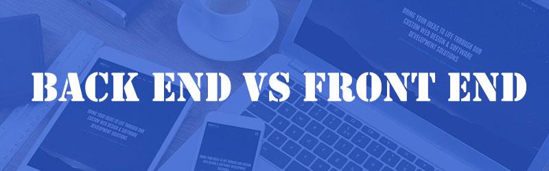 بازارکار توسعه دهندگان Front End و Back End وب سایت
