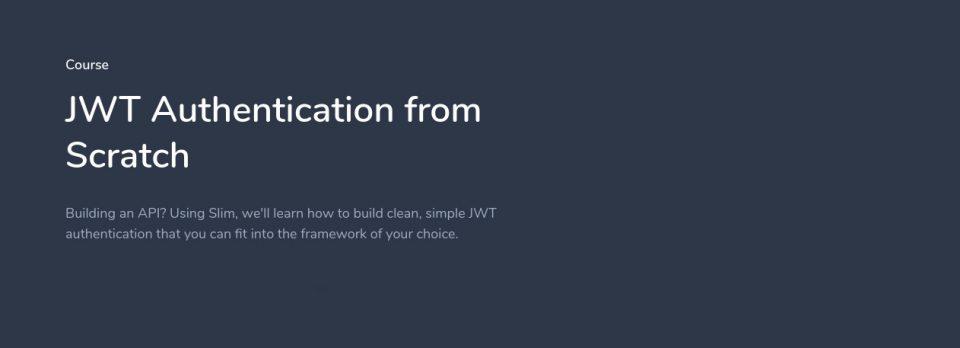 دانلود فیلم آموزش jwt در لاراول – JWT Authentication
