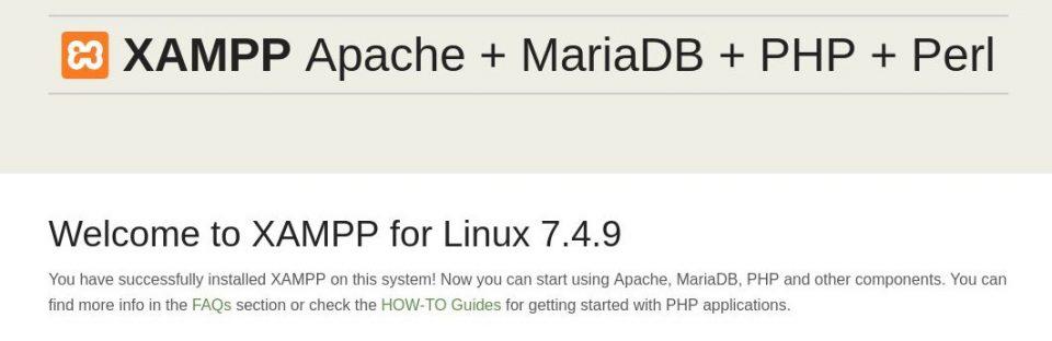 نصب xampp در لینوکس Ubuntu